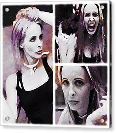 Stupid Actress  Acrylic Print by Lisa Piper