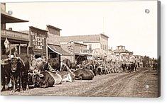 Sturgis South Dakota C. 1890 Acrylic Print by Daniel Hagerman