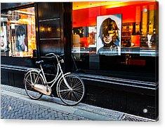Stylish Dutch Bike Acrylic Print