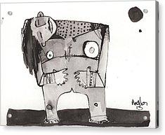 Sub Lunam No. 2 Acrylic Print by Mark M  Mellon