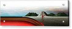 Subduction Zone Volcanism Acrylic Print by Mikkel Juul Jensen