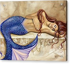 Sublime Acrylic Print by Rebecca Glaze