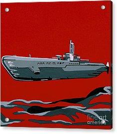 Submarine Sandwhich Acrylic Print by Slade Roberts