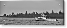 Acrylic Print featuring the photograph Subtle Mooring by Richard Bean