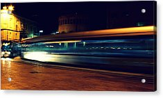 Subway Acrylic Print by Amr Miqdadi