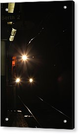 Subway And Surface Trolley Acrylic Print