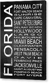 Subway Florida State 1 Acrylic Print