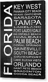 Subway Florida State 3 Acrylic Print