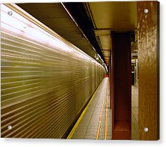 Subway Speed Acrylic Print