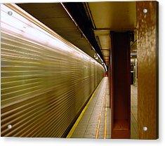 Subway Speed Acrylic Print