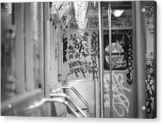 Acrylic Print featuring the photograph Subway by Steven Macanka