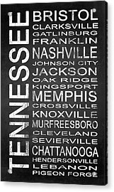 Subway Tennessee State 1 Acrylic Print by Melissa Smith