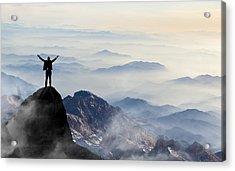 Success Acrylic Print by Guvendemir