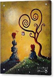 Such A Romantic By Shawna Erback Acrylic Print by Shawna Erback
