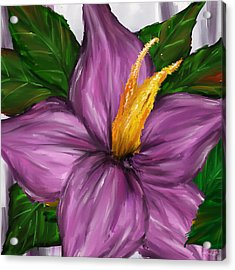 Such Beauty- Magnolia Paintings Acrylic Print by Lourry Legarde