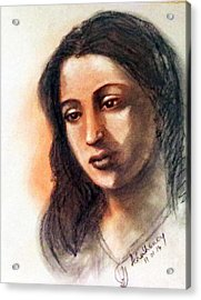 Suchitra Sen Acrylic Print
