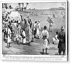 Sudan Cricket, 1899 Acrylic Print by Granger