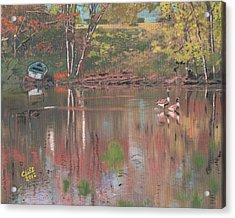 Sudbury River Acrylic Print