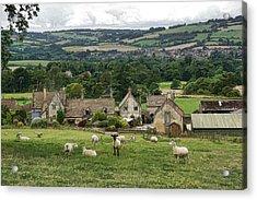 Sudeley Hill Farm Acrylic Print