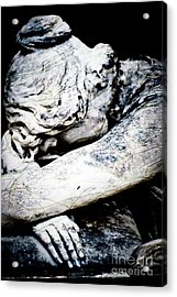 Suffer Well Acrylic Print by Sonja Quintero
