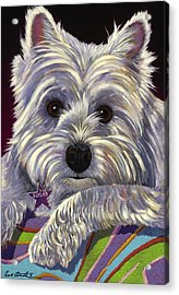 Acrylic Print featuring the painting Sugar by Bob Coonts