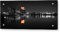 Sugar Glow - Domino Sugars - Vibrant Color Splash Acrylic Print