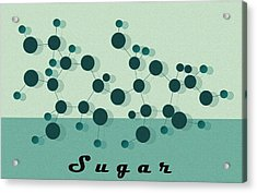 Sugar Acrylic Print by Kate Paulos