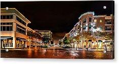 Sugar Land Town Square Acrylic Print