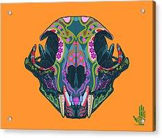 Sugar Lynx  Acrylic Print by Nelson dedos Garcia