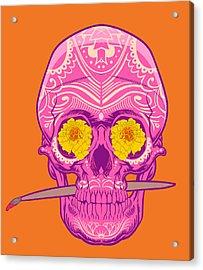 Sugar Skull 2 Acrylic Print