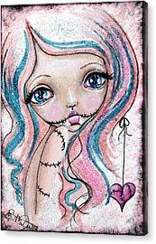 Sugar Spun Zombie Acrylic Print