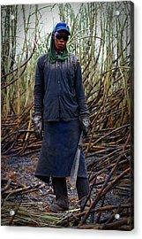 Acrylic Print featuring the photograph Sugarcane Slash by Henry Kowalski