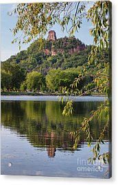 Acrylic Print featuring the photograph Sugarloaf In Spring by Kari Yearous
