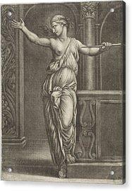Suicide Of Lucretia, Jan Van Somer, Rafal Acrylic Print