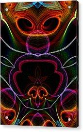 Acrylic Print featuring the digital art Suile Ciallmhar by Owlspook