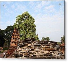 Sukhothai Historical Park - Sukhothai Thailand - 011311 Acrylic Print by DC Photographer
