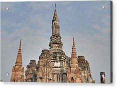 Sukhothai Historical Park - Sukhothai Thailand - 011314 Acrylic Print