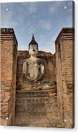 Sukhothai Historical Park - Sukhothai Thailand - 011317 Acrylic Print by DC Photographer