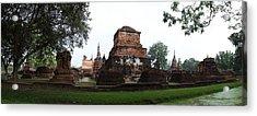 Sukhothai Historical Park - Sukhothai Thailand - 01132 Acrylic Print by DC Photographer