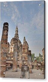Sukhothai Historical Park - Sukhothai Thailand - 011324 Acrylic Print by DC Photographer