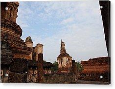 Sukhothai Historical Park - Sukhothai Thailand - 011327 Acrylic Print by DC Photographer
