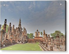 Sukhothai Historical Park - Sukhothai Thailand - 011329 Acrylic Print by DC Photographer