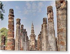 Sukhothai Historical Park - Sukhothai Thailand - 011336 Acrylic Print by DC Photographer