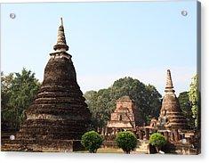 Sukhothai Historical Park - Sukhothai Thailand - 011340 Acrylic Print by DC Photographer