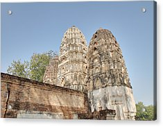 Sukhothai Historical Park - Sukhothai Thailand - 011355 Acrylic Print by DC Photographer
