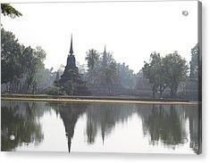 Sukhothai Historical Park - Sukhothai Thailand - 011366 Acrylic Print by DC Photographer