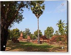 Sukhothai Historical Park - Sukhothai Thailand - 011367 Acrylic Print by DC Photographer