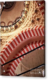 Suleymaniye Arches Acrylic Print by John Rizzuto