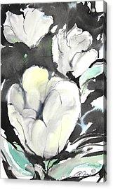 Sumie No.5 Tulips Acrylic Print by Sumiyo Toribe