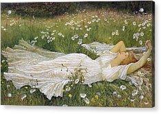Summer, 1895 Acrylic Print